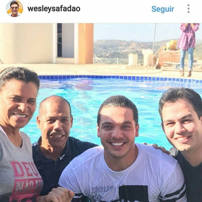 Batismo do Wesley Safadão
