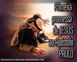 Promessas de Jesus, são paulo, aposto dos gentios