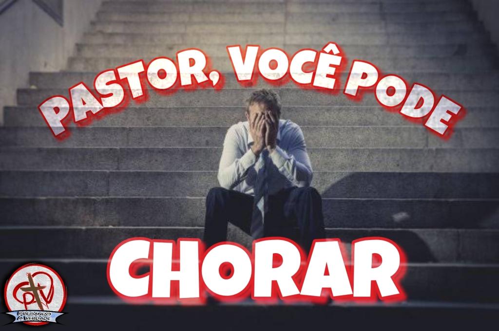 Pastor chorando